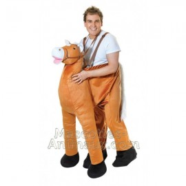 Discounted horse Mascot costume and disguise