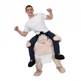 Adult Baby Riding Mascot